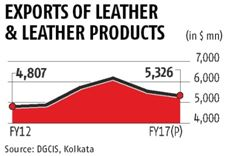 India leather exports