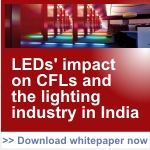 The Effect of LED Growth on the CFL Market in India
